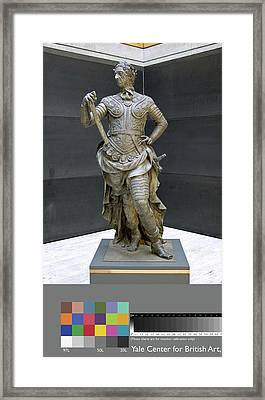 Sculpture, William IIi Inscribed On Rear Of Statue Framed Print by Litz Collection
