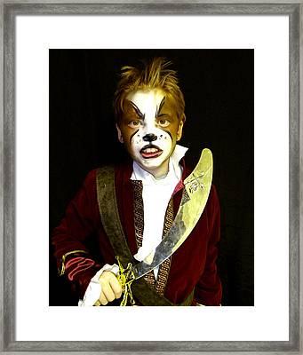 Scurvy Dog Framed Print