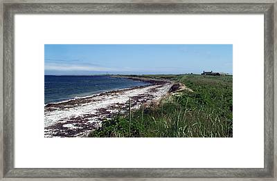 Scuthvie Bay And Start Point Framed Print by Steve Watson