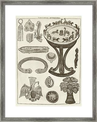 Scythian Antiquities Framed Print by Middle Temple Library