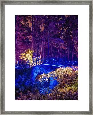 Stone Bridge - Crop Framed Print