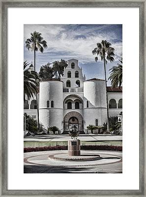 Hepner Hall Framed Print