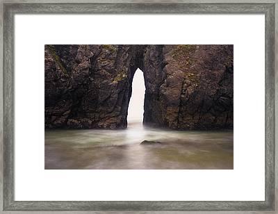 Sea Arch Framed Print