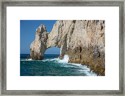 Sea Arch El Arco De Cabo San Lucas Framed Print