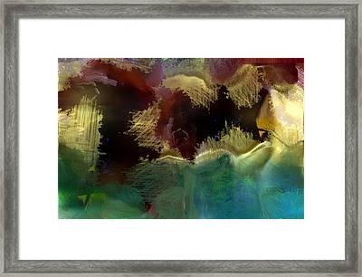 Sea Bed Framed Print