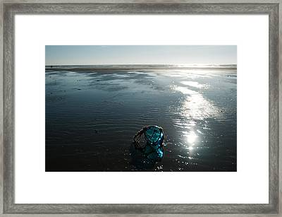 Sea Blue Framed Print by  Kelly Hayner