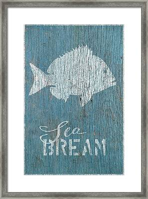 Sea Bream Framed Print