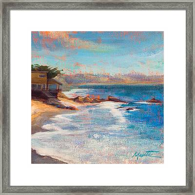 Sea Breeze Framed Print by Athena  Mantle
