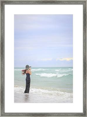 Sea Breeze Framed Print by Evelina Kremsdorf