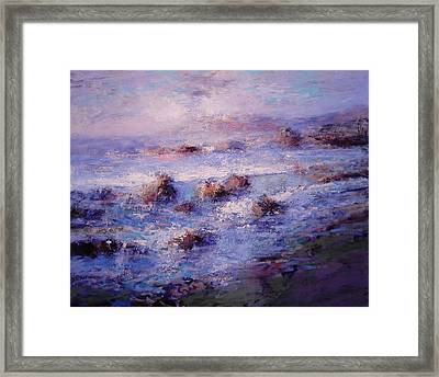 Sea Breeze Framed Print by R W Goetting