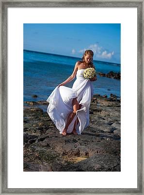 Sea Bride  Framed Print