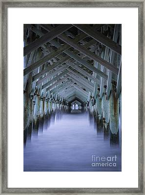 Sea Cathedral Framed Print