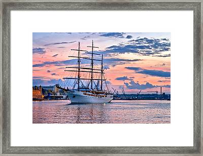 Sea Cloud II Framed Print