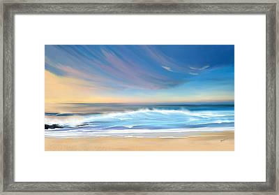 Sea Coast Escape Framed Print
