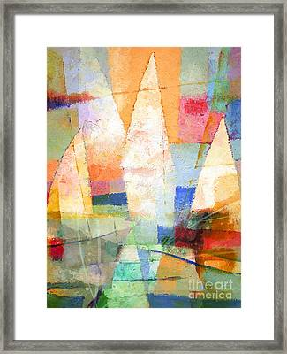 Sea Colors Framed Print