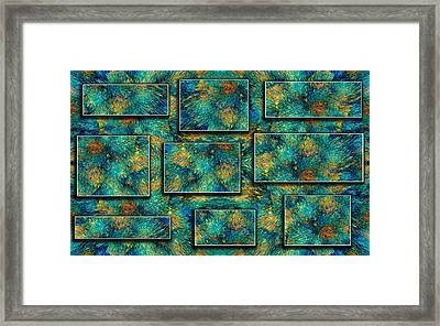 Sea Coral Framed Print by Betsy Knapp
