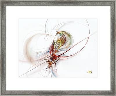 Sea Creature Framed Print
