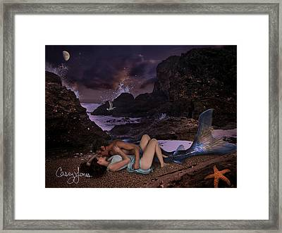 Sea-crossed Lovers Framed Print