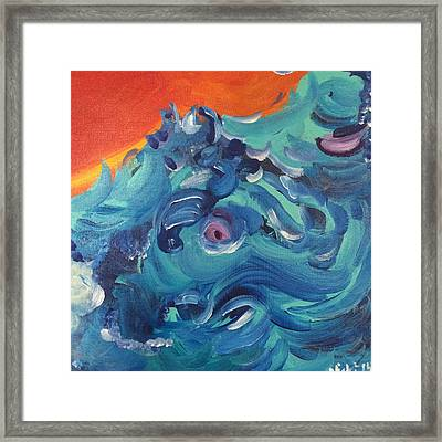 Sea Dragon Framed Print