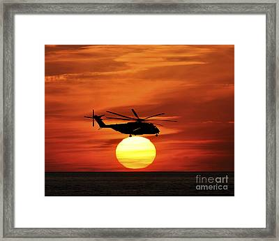 Sea Dragon Sunset Framed Print by Al Powell Photography USA