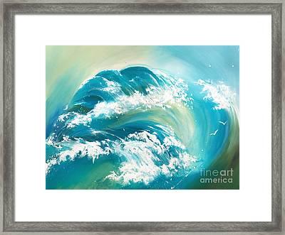 Sea Dreams Framed Print by Michelle Wiarda