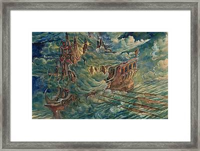 Sea Engine Framed Print