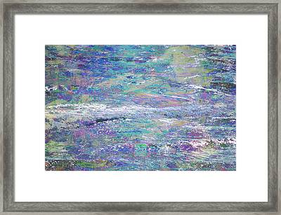 Sea Expressions Framed Print