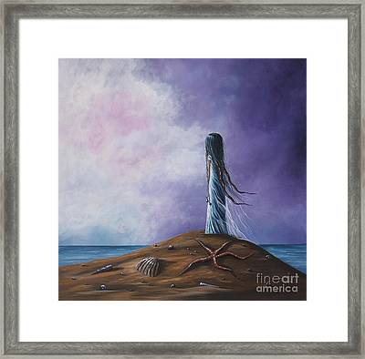 Sea Fairy By Shawna Erback Framed Print by Shawna Erback