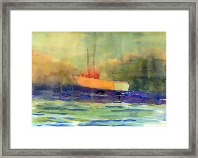 Sea Farer Framed Print by Marsden Burnell