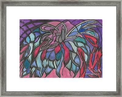 0044 Sea Flower Framed Print by Essel Emve