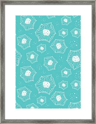 Sea Flower Framed Print by Susan Claire