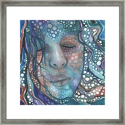 Sea Foam Framed Print