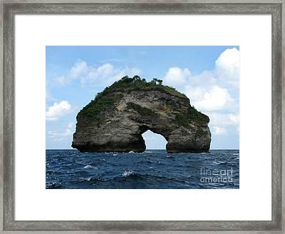 Sea Gate Framed Print by Sergey Lukashin