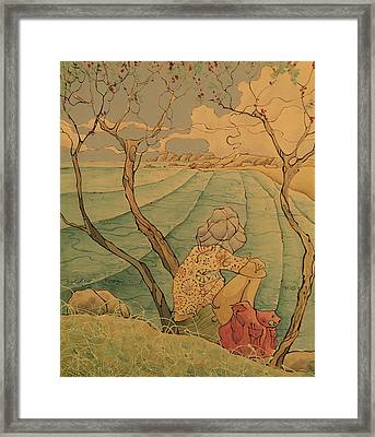 Sea Gazer Framed Print