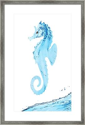 Sea-horsin' Around Framed Print