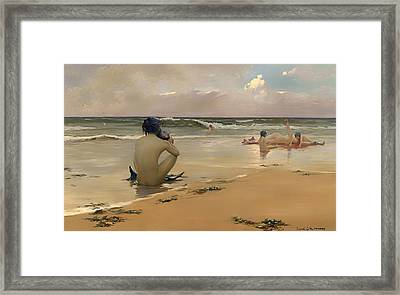 Sea Idyll Framed Print by Mountain Dreams