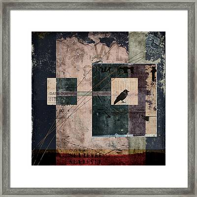 Sea Level Framed Print