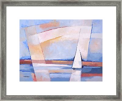 Sea Light Framed Print by Lutz Baar