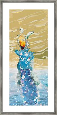Sea Man Framed Print