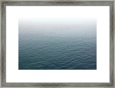 Framed Print featuring the photograph Sea Mist by Jane McIlroy