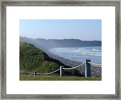 Sea Mist Framed Print by Janet Ashworth
