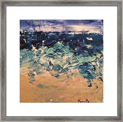 Sea Mist Framed Print by Kimberly Balentine