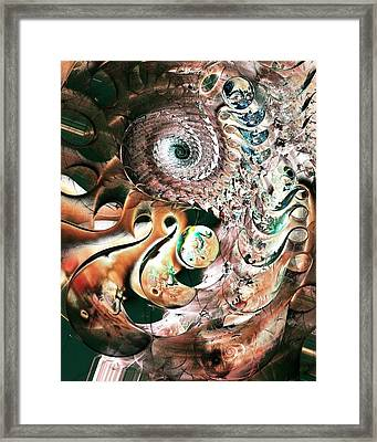 Sea Monster Framed Print by Anastasiya Malakhova