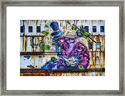 Sea Monster Art Framed Print by Ian Mitchell