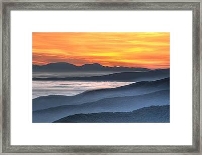 Sea Of Awakening Framed Print by Mary Anne Baker