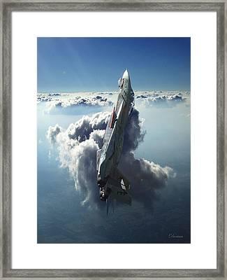 Sea Of Light Framed Print by Dorian Dogaru