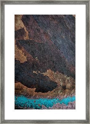 Sea Of Rust Framed Print