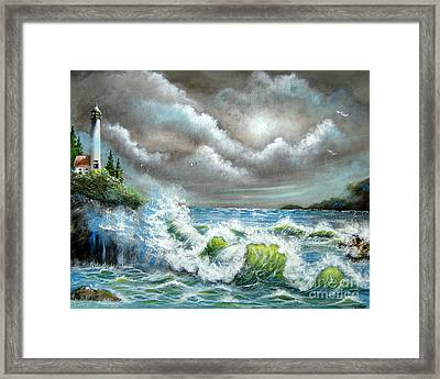 Sea Of Smiling Faces Framed Print by Patrice Torrillo