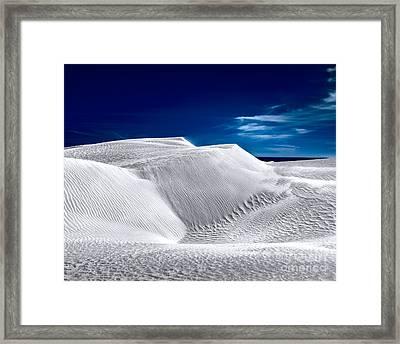 Sea On The Horizon Framed Print