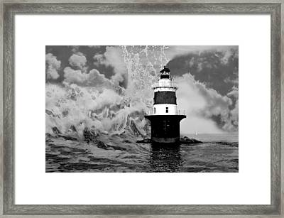 Beyond Sea And Sky Framed Print by Diana Angstadt